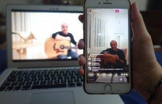 Aykut Kuşkaya'dan Evde Kal'anlara canlı performans