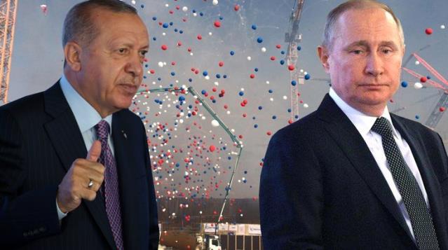 Son Dakika: Erdoğan ve Putin, Akkuyu Nükleer Güç Santrali'nde üçüncü ünitenin temelini attı
